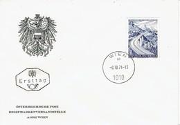 Österreich / Austria - Mi-Nr 1372 FDC (O803) - Brücken