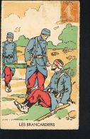 MILITARIA-Guerre 14/18- Les Brancardiers -Dessin LEVIN LEMONIER- COURMONT  Paypal Sans Frais - Guerre 1914-18