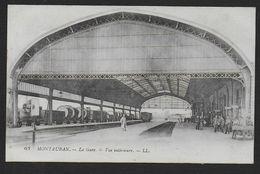 MONTAUBAN - La Gare - Vue Intérieure - Montauban