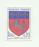 1510 - Armoiries De Ville (VI)  St Lo (1966) - Unused Stamps