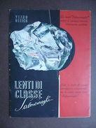 Lenti Occhiali Vetro Ottico Salmoiraghi Grafica  Pubblicità Opuscolo 1941 - Advertising