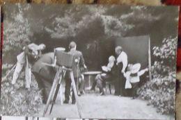 Old Camera - Photographer - Writer Leo Tolstoy - Old Postcard - Beroepen