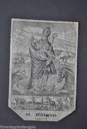 Incisione Agiografia S. Eligio Noyon Maniscalchi Orafi Cavalli Buoi Nocera 1800 - Altre Collezioni