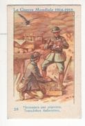 Thème : L'Alsacienne. Teinture. Série La Guerre Mondiale 1914-18. Chromo N°28. Etat Q1/Q2 - Other