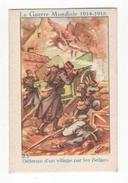 Thème : L'Alsacienne. Boules (teinture). Série La Guerre Mondiale 1914-18. Chromo N°23. Etat Q1/Q2 - Other