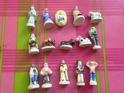 15 Feves Serie Complete Creche Vahine 1996 Arguydal - Santons