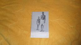CARTE POSTALE ANCIENNE CIRCULEE DE 1903. / CONGO FRANCAIS.- NAINE ET FEMME DE LOANGO. / CACHETS + TIMBRE - Congo Français - Autres