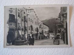 Cartolina Locale 1927 Vipiteno Bolzano Trentino Alto Adige Città Nuova Animata - Bolzano (Bozen)