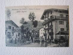 Cartolina Locale 1916 Hotel Regina Mondrone  Piemonte Valle Di Lanzo Ala Stura - Unclassified
