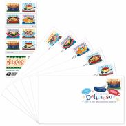 Stamps USA 2017. Delicious Cuisine Of Central And South America, Mexico And The Caribbean Islands. - United States