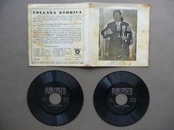 Alcide De Gasperi In Uno Dei Suoi Ultimi Discorsi Disco Doppio 33 Giri Storia - Vinyl-Schallplatten