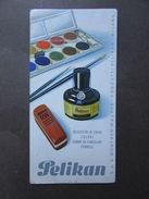 Cartoncino Pubblicitario Pelikan Inchiostri Gomme Colori Wagner Milano Originale - Vieux Papiers