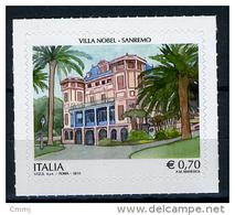 2014 -  Italia - Italy -  Villa Nobel A Sanremo -  Mint - MNH - 6. 1946-.. Republik