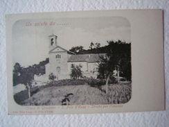 Cartoline Emilia Romagna San Polo D'Enza Reggio Emilia Chiesa Grassano 1900 - Reggio Nell'Emilia