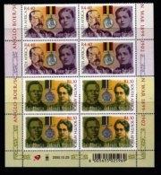 RSA, 2000, MNH Stamps In Control Blocks, MI 1291-1292, Boer War, Writers,  X757 - South Africa (1961-...)