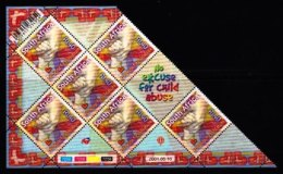 RSA, 2001, MNH Stamps In Control Blocks, MI 1391, Child Abuse,  X769 - Zuid-Afrika (1961-...)