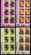 RSA, 2001, MNH Stamps In Control Blocks, MI 1403-1408, Definitive's Butterflies,  X770 - Ongebruikt
