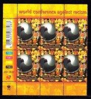 RSA, 2001, MNH Stamps In Control Blocks, MI 1421, Anti Racism,  X771 - Zuid-Afrika (1961-...)