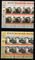 RSA, 2001, MNH Stamps In Control Blocks, MI 1432-1433, Anglo-Boer War ,  X771 - Zuid-Afrika (1961-...)