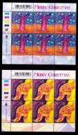 RSA, 2001, MNH Stamps In Control Blocks, MI 1449-1450, Christmas ,  X689 - Zuid-Afrika (1961-...)