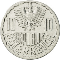 Autriche, 10 Groschen, 1990, Vienna, SUP, Aluminium, KM:2878 - Autriche