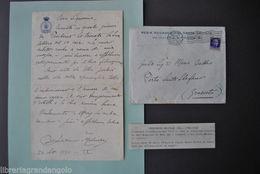 Autografi Musica Bernardino Molinari Direttore Orchestra Accademia Cecilia 1931 - Autographes