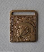 Medaglie Militaria Medaglia Distintivo Raduno Nazionale Bersaglieri Ravenna 1967 - Altri