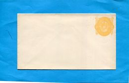 Honduras-Enveloppe-crème Entier Postal-postal-stationnery-10 Corange  -neuf Armoiries-1892 - Honduras