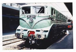 PHOTO Train Wagon Engin De Traction Loc Loco Locomotive Electrique SNCF BB 9004 Non Datée - Trains