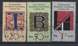 Germany (DDR) 1989  International IBA (o) Mi.3245-3247 - [6] Democratic Republic