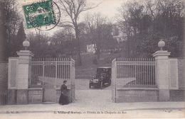 CPA (92)  VILLE-D'AVRAY.  Entrée De La Chapelle Du Roi, Animé, Voiture Ancienne. ..G226 - Ville D'Avray