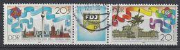Germany (DDR) 1989  FDJ, Berlin (o) Mi.3248-3249 - [6] Democratic Republic