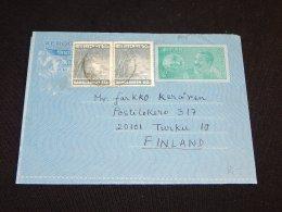 Bangladesh 1975 Aerogram To Finland_(L-805) - Bangladesh