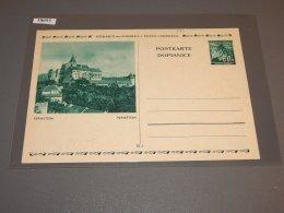 Böhmen Mähren Unused Stationery Card_(L-199) - Bohemia & Moravia
