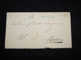 Germany 1809 Rinteln Letter_(L-1727) - Germania