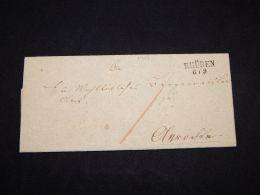 Germany 1837 Rhude Letter_(L-1729) - Germany