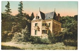 17096       CPA  AUBIGNE RACAN  : Château De Bellevue  , 1959 , Jolie Carte Colorisée ACHAT DIRECT !! - Other Municipalities