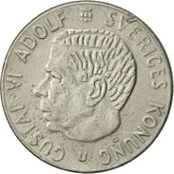 Suède, Gustaf VI, Krona, 1969, TTB, Copper-Nickel Clad Copper, KM:826a - Suède