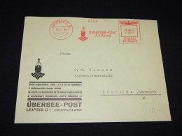 Germany 1939 Leipzig Meter Mark Cover_(L-1521) - Deutschland