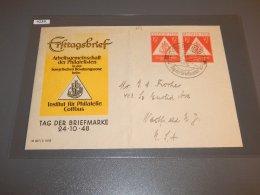Germany Soviet 1948 Stamp Day Cover_(L-204) - Sowjetische Zone (SBZ)