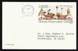 United States - Scott #UX104 Used - Postal Stationery