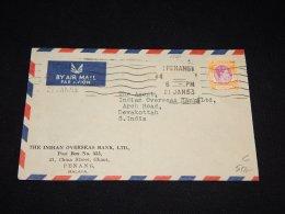 Penang 1953 Cover To S.India_(L-1560) - Penang