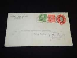 USA 1915 Richmond Cover To Finland_(L-1588) - Covers & Documents