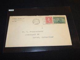 USA 1920 Hudson Cover To Switzerland_(L-587) - United States