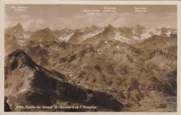 Switzerland Route Du Grand St-Bernard Et L'Hospice Photo - VS Valais