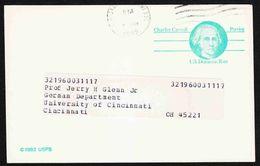 United States - Scott #UX105 Used - Postal Stationery