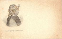 Serie GRANDI POETI ITALIANI - FRANCESCO PETRARCA - F. PICCOLO (retro Indiviso) - (rif. Z69) - Scrittori