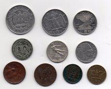 Italia - Lotto 10 Monete Regno - Anni Vari - Vedi Foto - (MW280) - 1861-1946 : Kingdom