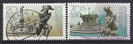 Germany (DDR) 1989 Briefmarkenausstellung, Magdeburg (o) Mi.3265-3266 - Used Stamps