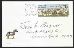 United States - Scott #UX125 Used - Postal Stationery